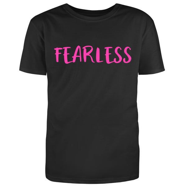 Fearless T-Shirt in Black (Regular Fit)