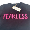 Fearless T-Shirt in Black (Slim Fit)