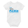 'I'm an Ickle Pickle' Premmie Baby Grow (3-5 lbs)