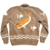 Mary Maxim Fish Sweater