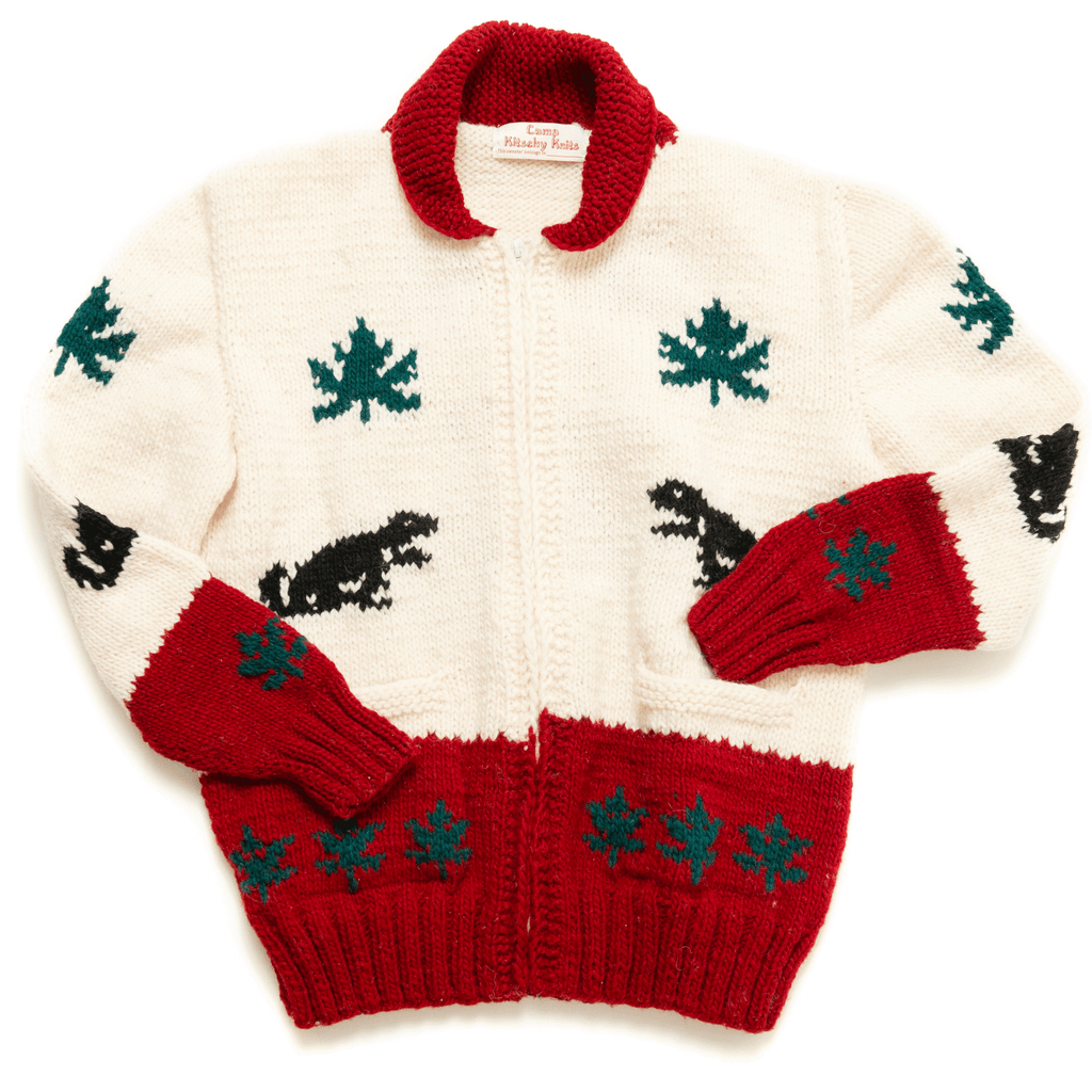 Canadian Wool Sweater Mary Maxim