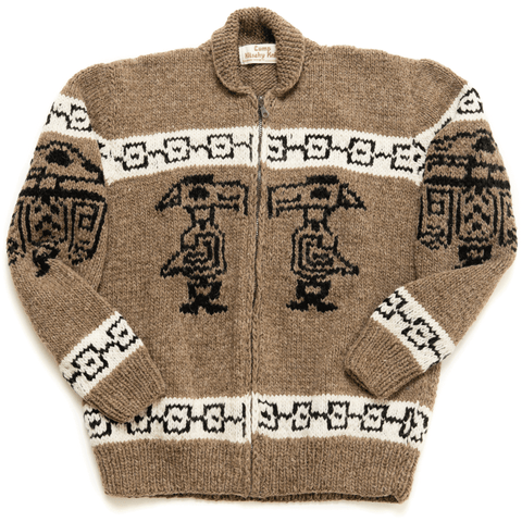 Tribal Bird Totem Sweater