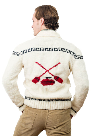 Mary Maxim Curling Sweater