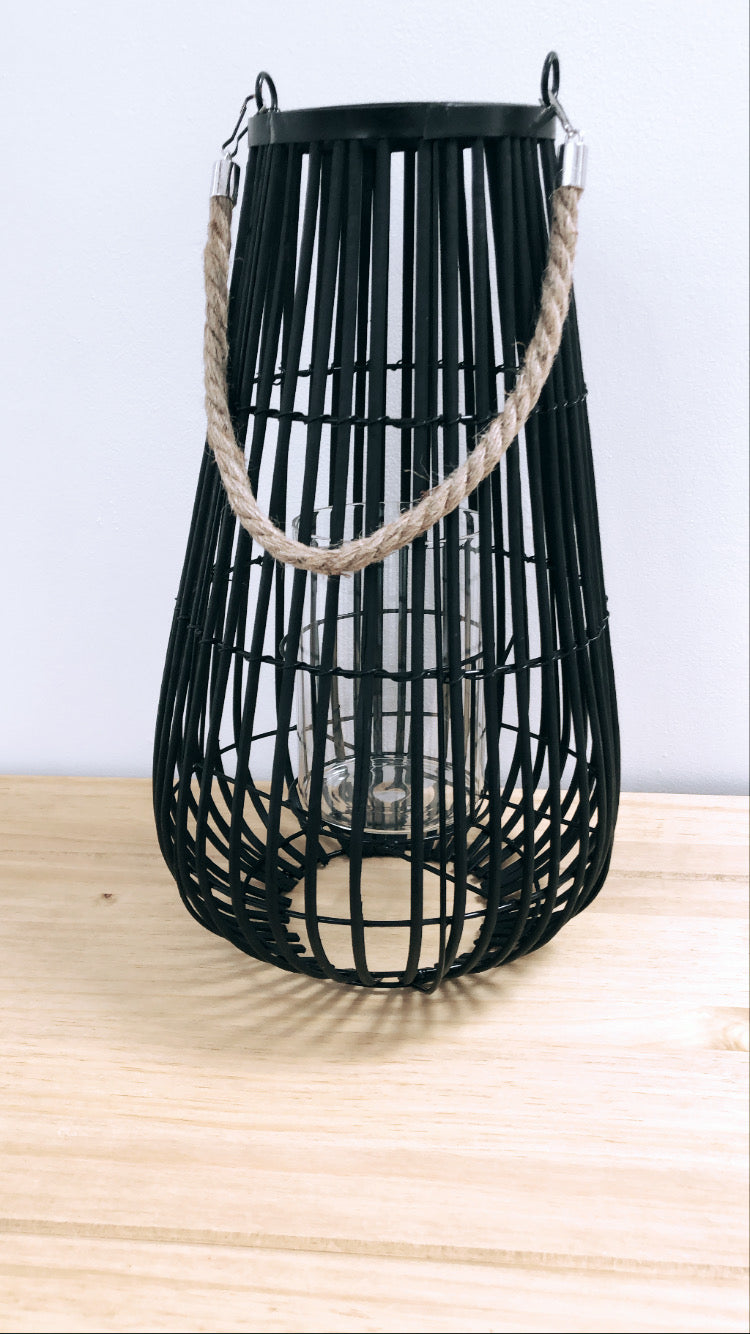 Domed Lantern With Rope Detail