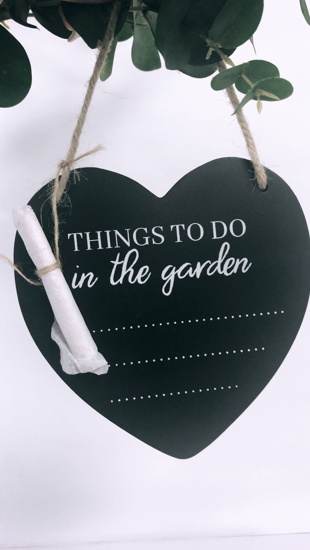 To Do List Garden Plaque