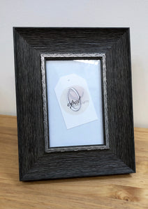Grey Wood Effect Frame 4 X 6