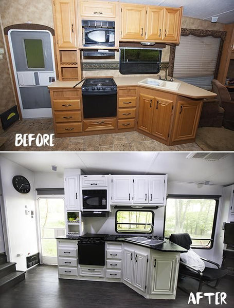 Before and After RV Remodel #6