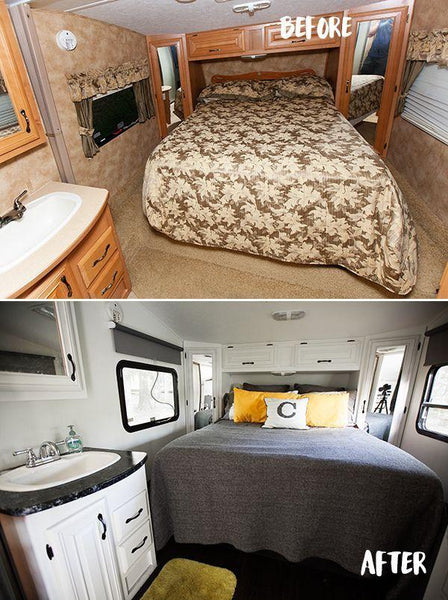 Before and After RV Remodel #8