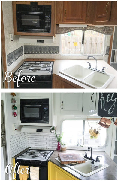 Before and After RV Remodel #7