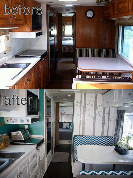 Before and After RV Remodel #9