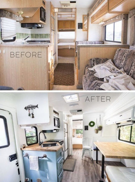 Before and After RV Remodel #2