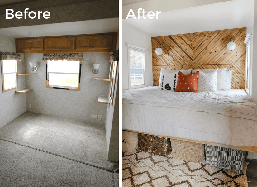 Before and After RV Remodel #5