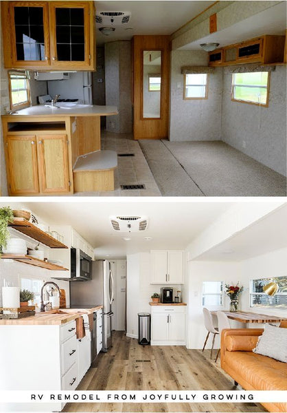 Before and After RV Remodel #1