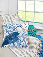 Load image into Gallery viewer, Blue Heron Decorator Pillow, Indoor Outdoor Use: Home & Kitchen