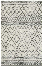 Load image into Gallery viewer, Maples Rugs Abstract Diamond Modern Distressed Non Slip Runner Rug