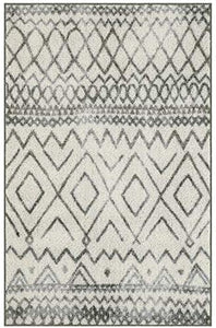 Maples Rugs Abstract Diamond Modern Distressed Non Slip Runner Rug