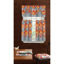 Load image into Gallery viewer, The Pioneer Woman Flea Market 3-Piece Kitchen Curtain Tier And Valance Set