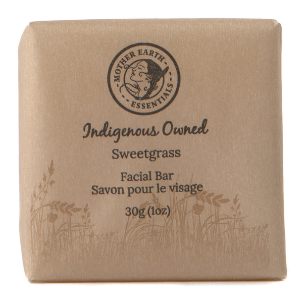 Natural Sweetgrass Facial Bar Soap