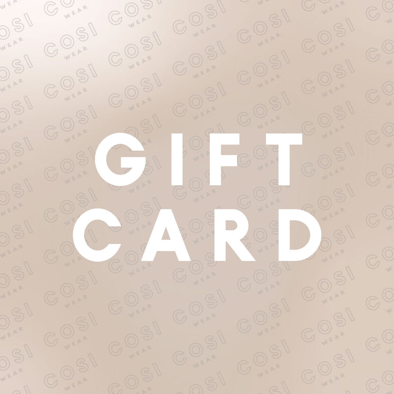 COSI WEAR GIFT CARD