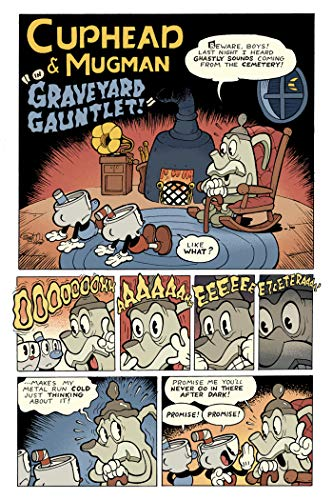 Cuphead Volume 1: Comic (New: Paperback)