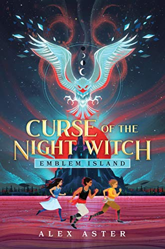 Curse of the Night Witch (Emblem Island) by Alex Aster (New: Hardcover)
