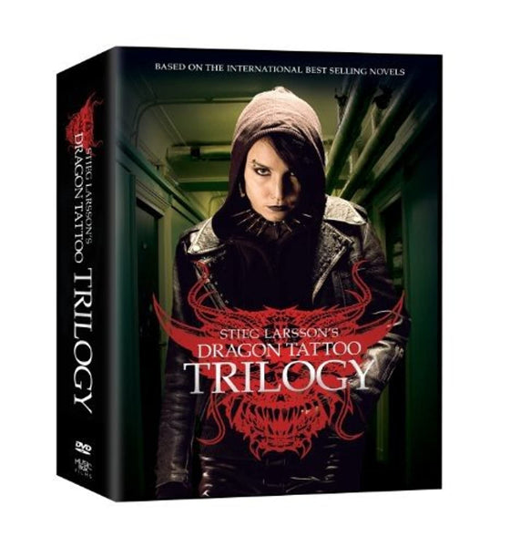 The Stieg Larsson Trilogy (The Girl with the Dragon Tattoo / The Girl Who Played With Fire / The Girl Who Kicked the Hornet's Nest) (New: DVD)