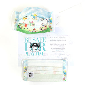 Be Safe For Playtime - Childs Face Mask