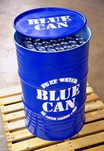 Blue Can Emergency Drinking Water