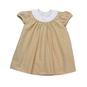 Rosie Dress - Khaki MiniGingham