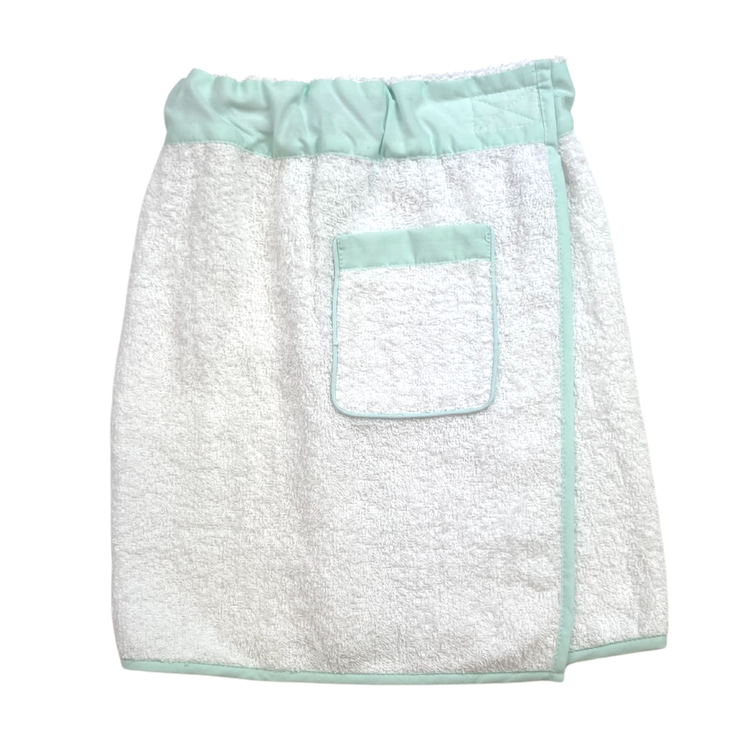 Towel Wrap - Boy Mint