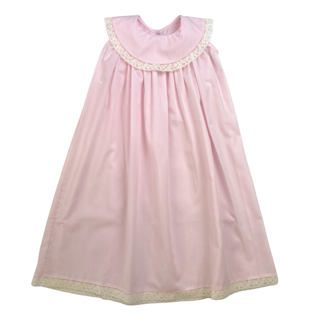 Heirloom Dress - Pink/Lace