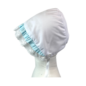Timeless Bonnet - White/Seafoam