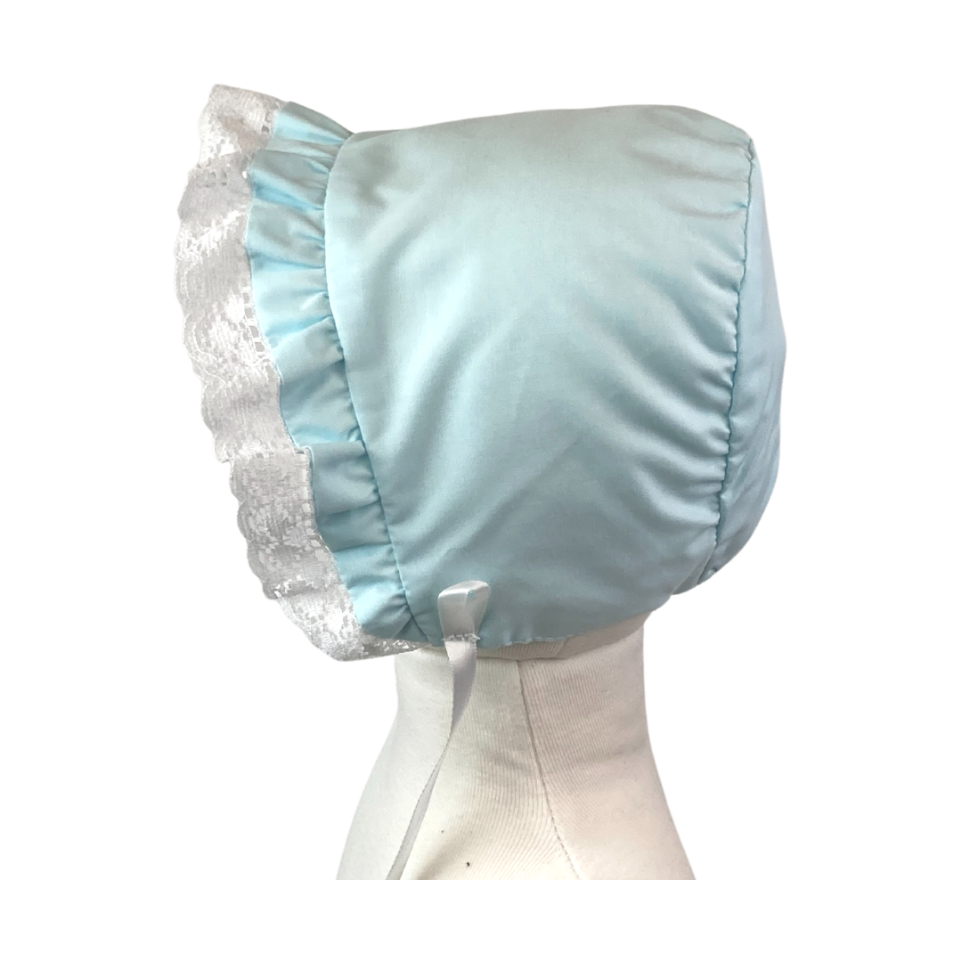 Original Bonnet - Seafoam/White Lace