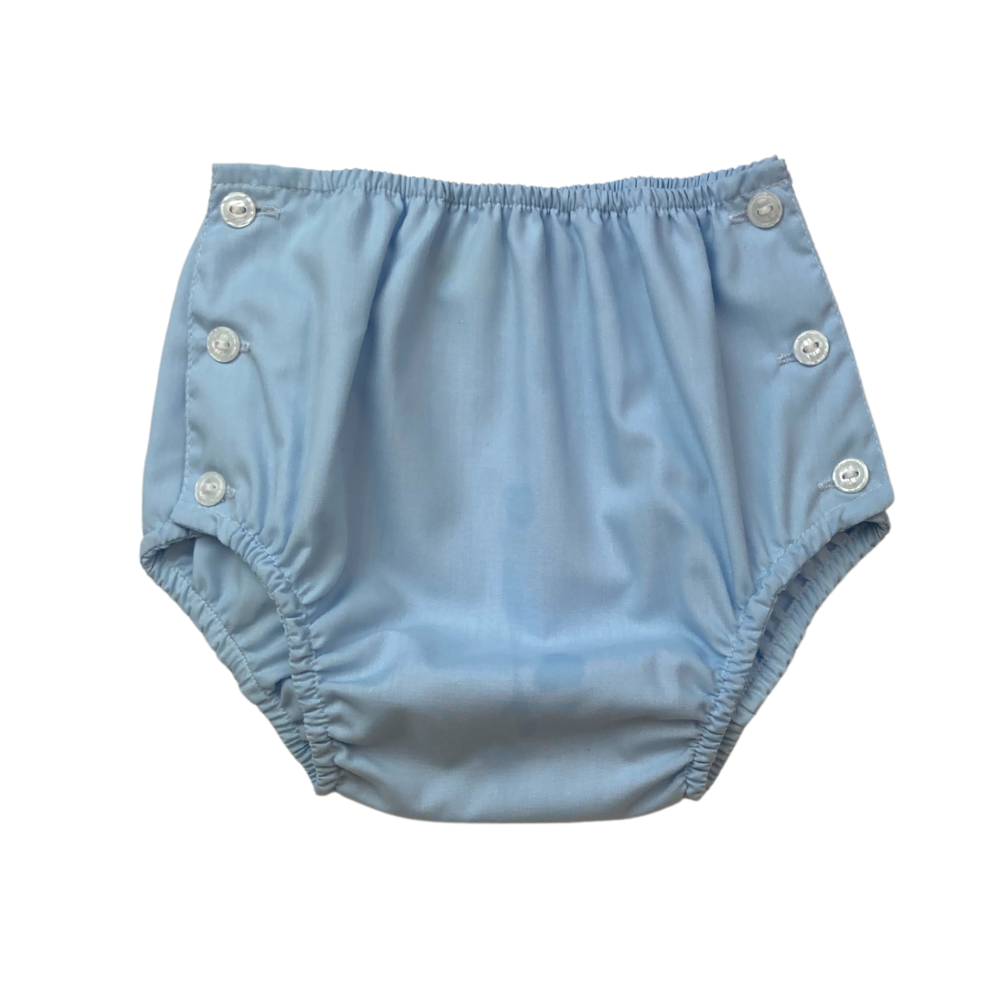 Dapper Diaper Cover - Blue