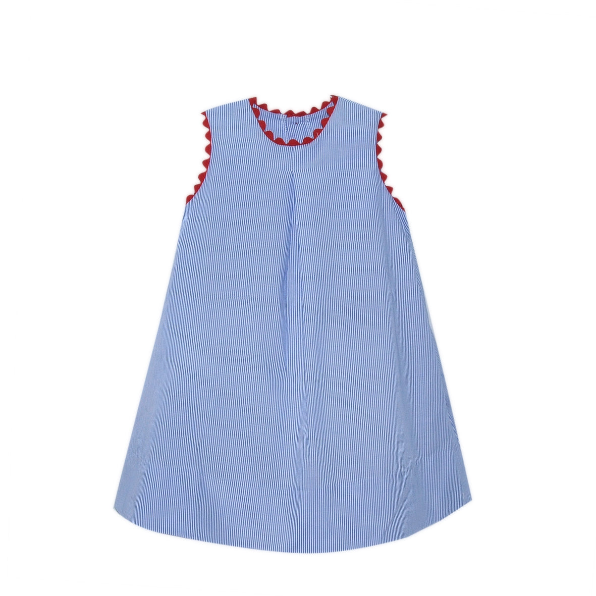 Sample - Caroline Dress - Navy Stripe