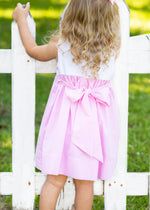 Load image into Gallery viewer, Daisy Dress - Pink Stripe