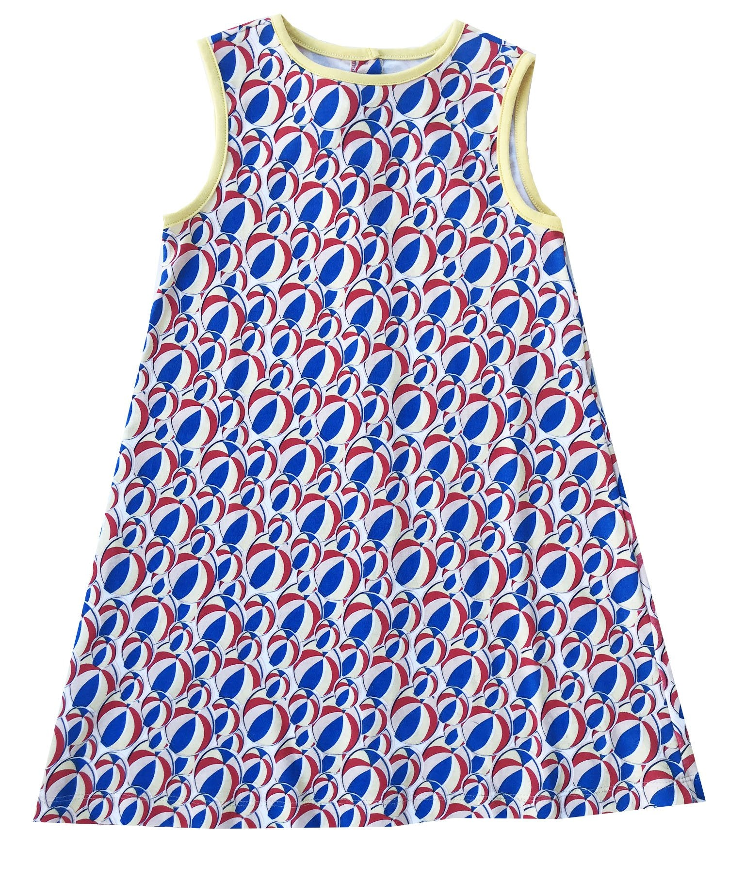 Darla Dress - Beach Ball
