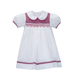Load image into Gallery viewer, Sarah Dress - Red MiniGingham