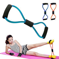 Chest Expander Yoga Rope Workout Pulling Fitness Exercise Resistance Tube ( Random )