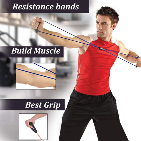 Resistance Band cum Yoga Rope (for men & women)