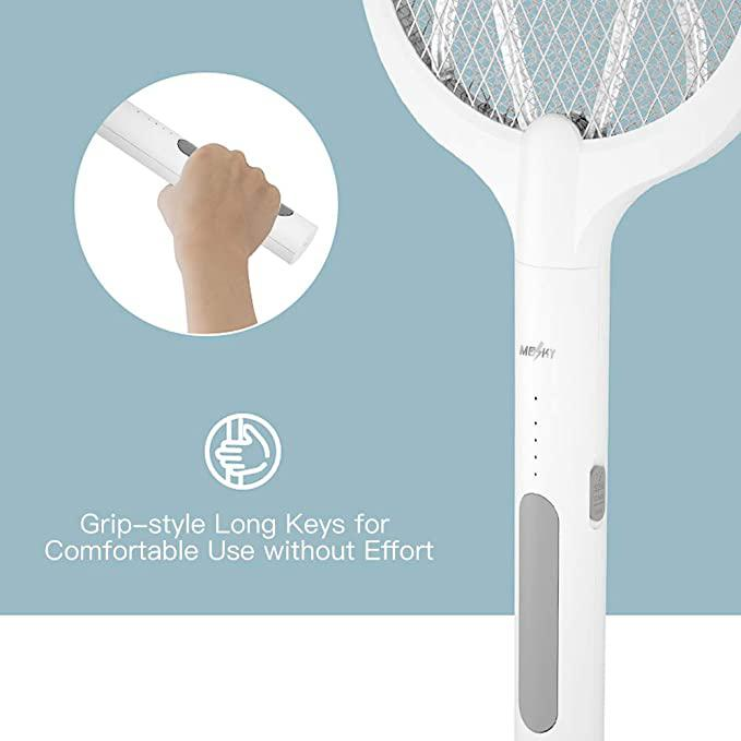 Mosky S360 USB Electric mosquito swatter rechargeable household powerful mosquito killer two-in-one lithium battery mosquito killer