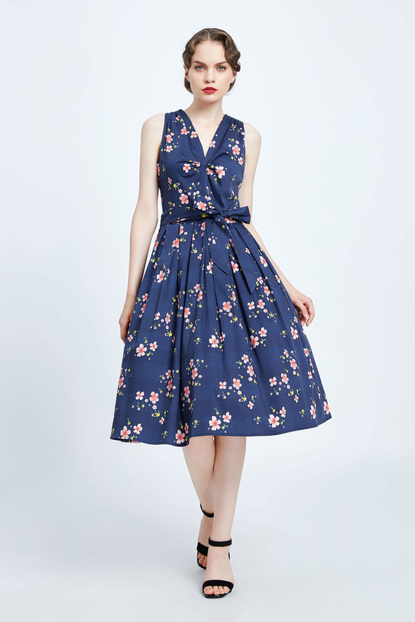 Sakura Sleeveless Dress