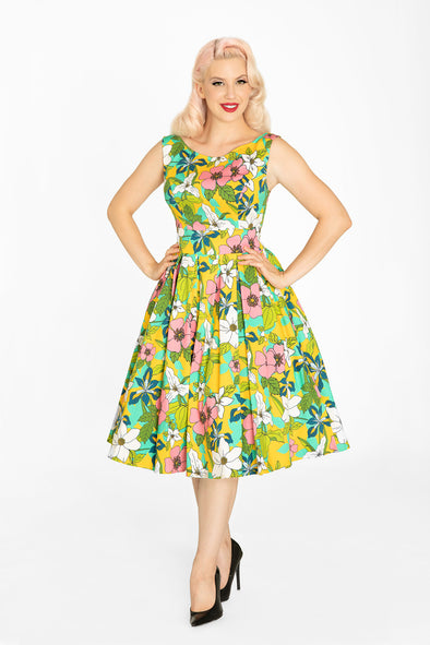 Canadian Provincial Flowers Dress