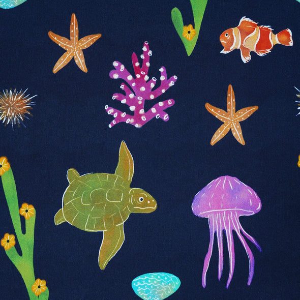 Sealife Canadian Designer Fabric