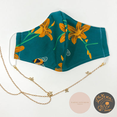 Bee Face Mask & Mask Chain Set- Collaborated With Taffi Studio