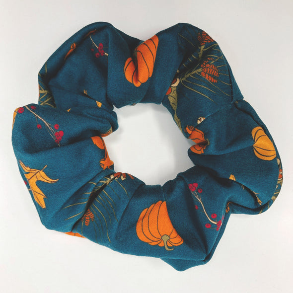 Fall Squirrel Scrunchie