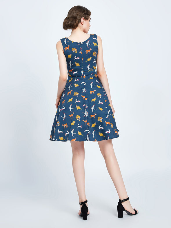 Animal Summer Dress