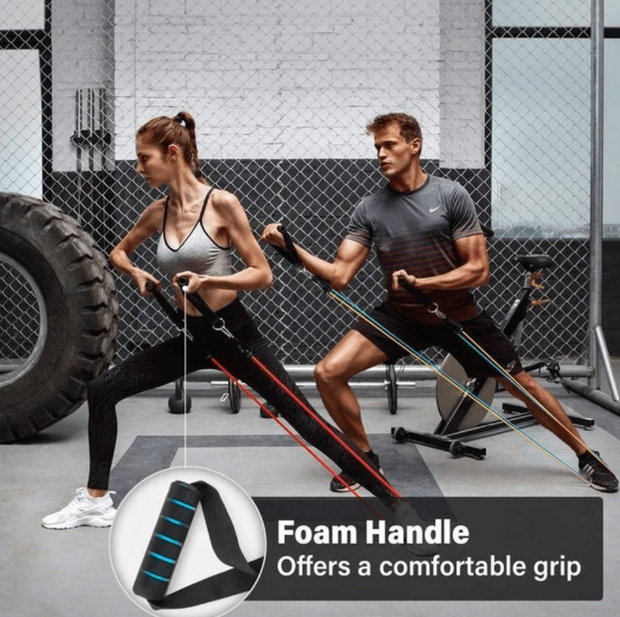 FLEX X BAND™ - Complete Workout System