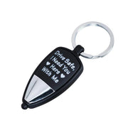 DRIVE SAFE MULTI LED KEY CHAIN™