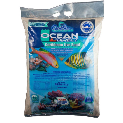 CARIBE SEA ocean direct live sand 18 kg